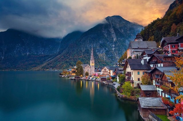 1) Hallstatt / Avusturya | Masal Diyarlarını Anımsatan 12 Yer